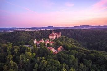 Wałbrzych Atrakcja Zabytek Zamek Książ